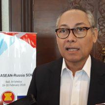 Indonesia Tuan Rumah Pertemuan ke-16 ASEAN-Russia Senior Officials Meeting