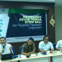 Diskusi Revisi RTRW, Pertanian Bisa Lenyap Akibat Tingginya Alih Fungsi Lahan