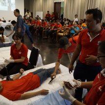 """""""Kebo Iwa Blood Donation"""" Kumpulkan 146 Kantong Darah"""