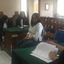 Simpan Tiga Paket Sabu, Mantan Pemandu LaguDituntut Tiga Tahun Penjara