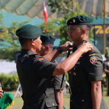 Pangdam Lantik Danyonif Raider 900/Satya Bhakti Wirottama Letkol Inf. Danang Prasetyo Wibowo