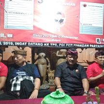 Kemenangan PDI Perjuangan dan Jokowi Harga Mati, Rai Wirajaya Ajak Caleg Kerja Kolektif