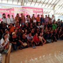 Polda Bali Rangkul Asosiasi Driver Online di Bali, Sinergi Wujudkan Pemilu 2019 Aman dan Damai