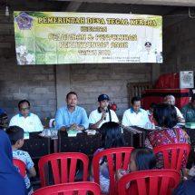 Desa Tegal Kertha Gelar Sosialisasi dan Edukasi PATBM, Kasus Kekerasan Seksual Tinggi
