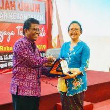 "Anggota Komisi VIII DPR RI Beri Kuliah Umum ""4 Pilar Kebangsaan Menjaga Taksu Bali"" di UNR"