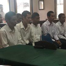 Main Keroyok, Lima Pemuda Asal Sumba Dituntut Setahun Penjara