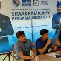 AHY Minta Kadernya Kawal RUU Provinsi Bali