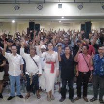 Pembekalan Ratusan Saksi Relawan, Siap Amankan Caleg DPRD Bali Dwi Yustiawati,S.E.