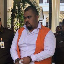 Miliki Sabu, Anak Ketua DPRD Klungkung Dituntut Satu Tahun