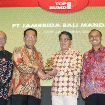 "Lima Kali Beruntun, Jamkrida Bali Mandara Sabet ""Top BUMD"""