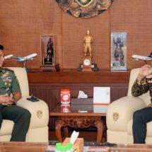 Pangdam Udayana Terima Kunjungan PT. PLN Unit Induk Distribusi Bali