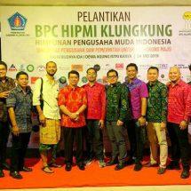 Pelantikan HIPMI Klungkung, Dorong Generasi Muda Jadi Wirausaha