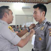 Ratusan Personel Polresta Denpasar Latihan Operasi Ketupat Agung