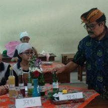 """Gebyar Budaya SMP PGRI 2 Denpasar, Dari Ribuan Sate, """"Pejati"""" hingga Jamu Kesehatan"""