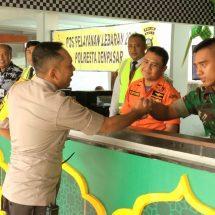 Antisipasi Lonjakan Penumpang, Waka Polresta Denpasar Pantau Posyan Lebaran Bandara Ngurah Rai