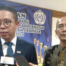 Pengurus DPC AAI Denpasar Dilantik, Muhammad Ismak: Beri Masyarakat Pemahaman Hukum