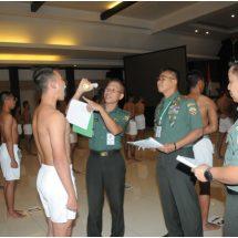 Dapatkan Perwira Terbaik, Pangdam Udayana: Tidak Ada Titipan, KKN dan Pungli