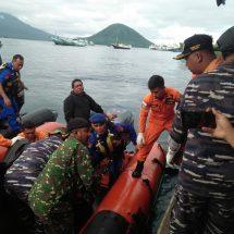 Pangkalan TNI AL Ternate Bantu Pencarian Korban Hilang Saat Berkebun