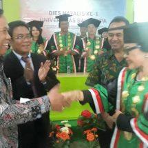 "Dies Natalis ke-1, Gubernur Apresiasi Komitmen UBAD Ciptakan SDM ""Creative, Innovative, Excellent"""