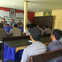 Terkait Pertanggungjawaban Anggaran, Tim Supervisi Polres Bangli Sasar Polsek Tembuku