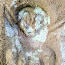 Batu Penolak Bala dan Lambang Kesuburan Ditemukan di Pesaban Karangasem