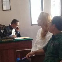 Sembunyikan Perampok, Wanita Rusia ini Diadili di PN Denpasar