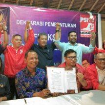 """Perkuat Soliditas dan Solidaritas, Lima Anggota DPRD Partai NasDem dan PSI Kota Denpasar Bentuk """"Fraksi Restorasi Solidaritas"""""""