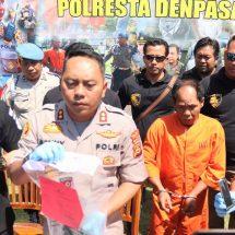 Residivis Pencuri Senjata Api Polisi Ditangkap