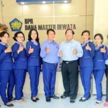 Tingkatkan Pelayanan, BPR Dana Master Dewata Tempati Gedung Baru