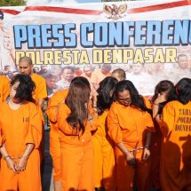 Polresta Denpasar Umumkan 17 Bandar Narkoba dengan Barang Bukti 3,2 Kg Sabu