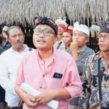 """Pengempon Harap Gubernur Koster Bantu Kembalikan 13 Hektar """"Laba"""" Pura Sad Khayangan Penida"""