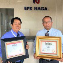 """Kinerja Keuangan """"Sangat Bagus"""", BPR Naga Kembali Raih Penghargaan Infobank"""
