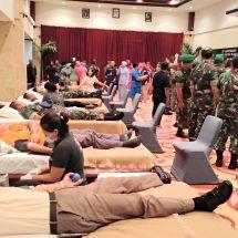 Aksi Donor Darah Dalam Rangka HUT Discovery Kartika Plaza Hotel ke -29 dan Tentara Nasiaonal Indonesia ke-74