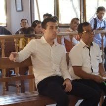 Jambret Tas Wisatawan Belanda, Bule Australia Dituntut Lima Bulan Penjara