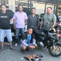 Resahkan Masyarakat, Ditreskrimum Polda Bali Bekuk Pelaku Begal Motor