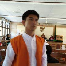 Beli Sabu 0,39 Gram, Aperendus Cong Dipenjara Empat Tahun