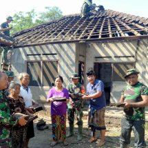 TMMD Ke-106, Kerja Sama Kodim Tabanan-PLN Bantu Bedah Rumah Warga Kurang Mampu