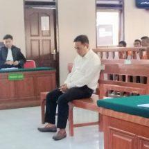 Edarkan Narkoba, Karyawan Restoran Dituntut 13 Tahun