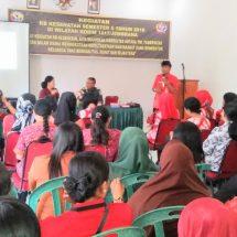 Kodim Jembrana Gandeng BKKBN Sosialisasikan KB Kesehatan