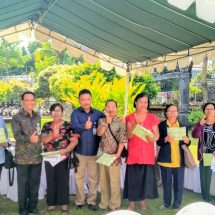 Pererat Hubungan Dengan Pensiunan, Bank BPD Bali Cabang Renon Gelar Pemeriksaan Kesehatan Gratis