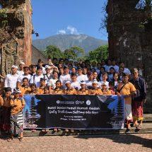 GenBI Bali Gelar Bakti Sosial Peduli Rumah Ibadah 2019 di Tabanan