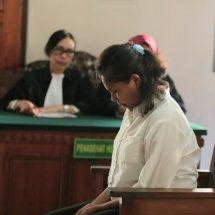 Bunuh Bayi, Mahasiswi Dituntut Hukuman Tujuh Tahun