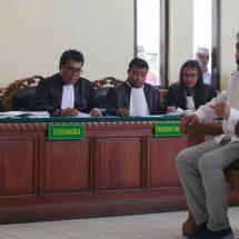 Dakwaan Tak Jelas, Penasihat Hukum Minta Hakim Kabulkan Eksepsi Terdakwa Harijanto