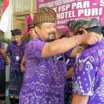 Satyawira Lantik Pengurus Unit Kerja FSP Par-SPSI Hotel Puri Raja