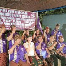 Ketua PC FSP Par-SPSI Badung Lantik PUK Waterbom Bali, Satyawira: Jangan Ada Diskiminasi Pelayanan