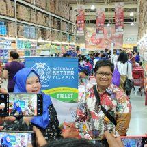Selain Ekspor, Produk Ikan Naturally Better Tilapia Kini Masuki 1.000 Lebih Gerai Supermarket di Indonesia