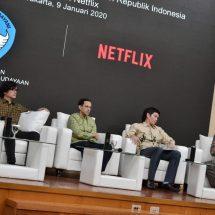 Mendikbud Apresiasi Netflix Dukung Pengembangan Talenta Perfilman Indonesia