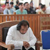 Beri Keterangan Palsu, Harijanto Dituntut Tiga Tahun