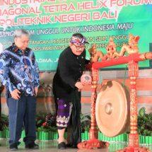 Wagub Cok Ace: Forum Pertemuan Tetra Helix Harus Mampu Beri Kontribusi Peningkatan SDM di Bali