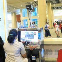 Antisipasi Virus Corona, Wagub Bali Tinjau Alat Body Thermal Scanner di Bandara Ngurah Rai